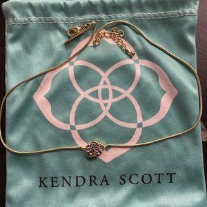 Kendra Scott drusy tess necklace